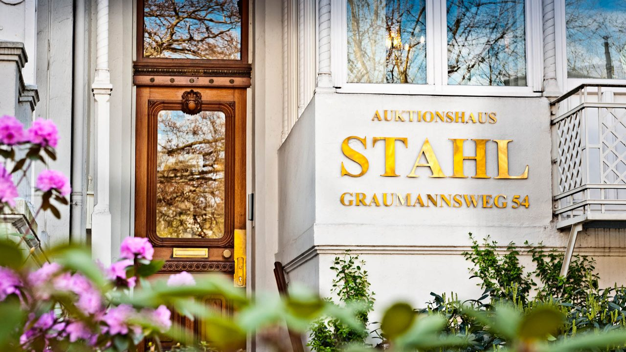 Auktionshaus STAHL, Hamburg, Entree