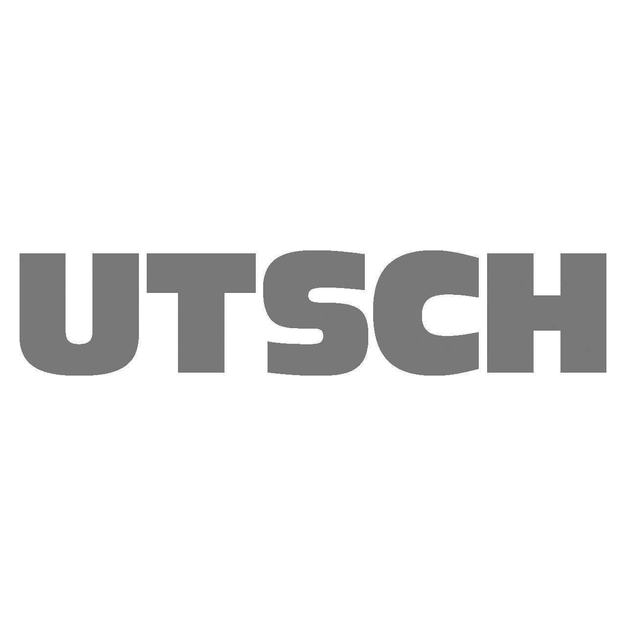 Logo Utsch, black & white