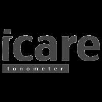 Logo of icare, black & white