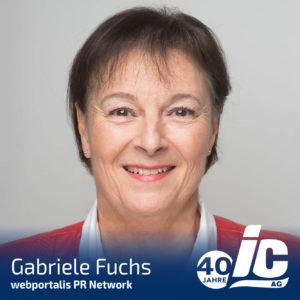 webportalis PR-Network, Gabriele Fuchs