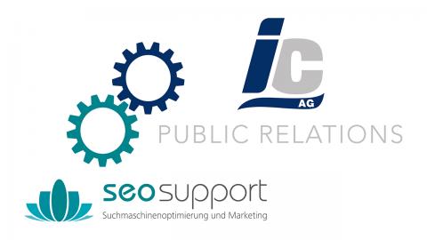 IC AG + seosupport = SEO PR cooperation