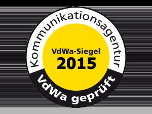 PR-Agentur IC AG mit Qualitätssiegel 2015 ausgezeichnet
