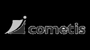 Logo cometis AG, black & white