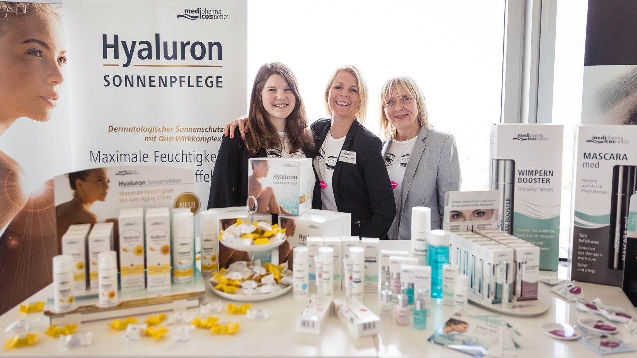 "Webportalis ""All-in-One Lifestyle-Event"" medipharma cosmetics Hyaluron, Clio Kumlehn, Michaela Gusenberger, Sabine-Harms-Karla (April 2017)"
