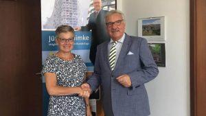 Monika Diem-Geßner und Jürgen Klimke
