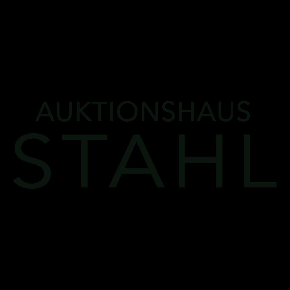 Logo Auktionshaus STAHL, black & white