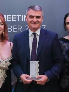 Industrie-Contact in Bucharest mit GOLD ausgezeichnet