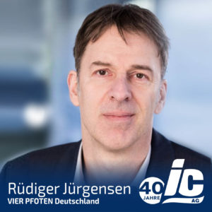 VIER PFOTEN Deutschland, Rüdiger Jürgensen